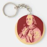 Benjamin Franklin Llavero