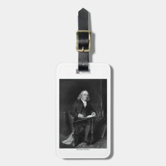 Benjamin Franklin Bag Tags