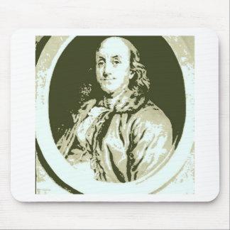Benjamin Franklin Mouse Pad