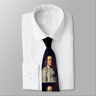 Benjamin Franklin Neck Tie