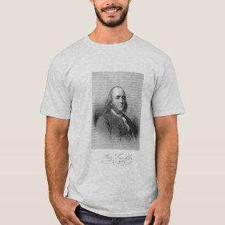 Benjamin Franklin on Liberty T-Shirt