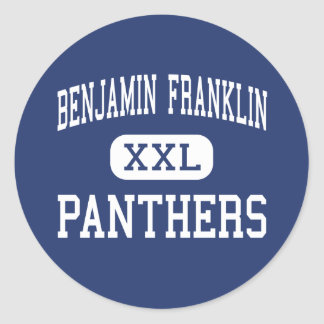 Benjamin Franklin Panthers Middle Vallejo Stickers