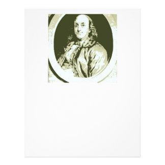 Benjamin Franklin Plantilla De Membrete