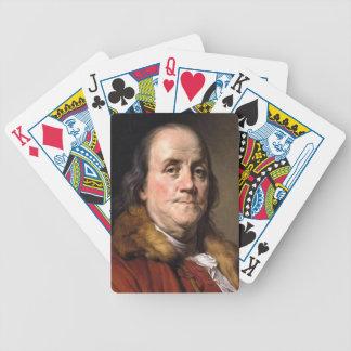 Benjamin Franklin Playing cards