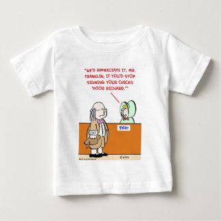 benjamin franklin poor richard baby T-Shirt