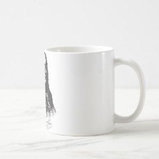 Benjamin Franklin Portrait and Signature Design Coffee Mug