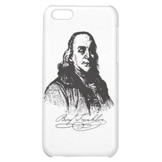 Benjamin Franklin Portrait and Signature Design iPhone 5C Cover