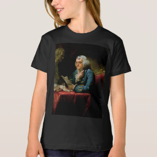 Benjamin Franklin Portrait by David Martin 1767 T-Shirt