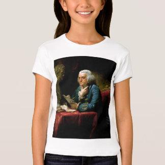Benjamin Franklin Portrait by David Martin 1767 T-Shirt