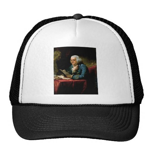 Benjamin Franklin Portrait Hat