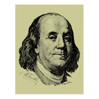 Benjamin Franklin Postcard