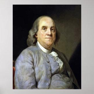 Benjamin Franklin Póster