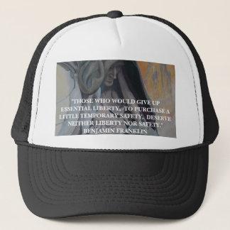 Benjamin Franklin Quote  - Hat