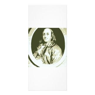Benjamin Franklin Rack Card