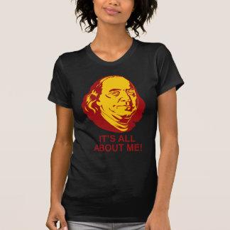 Benjamin Franklin Remera