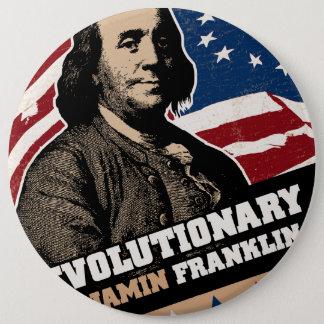 Benjamin Franklin Revolutionary Button