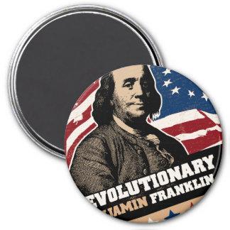 Benjamin Franklin Revolutionary Magnet