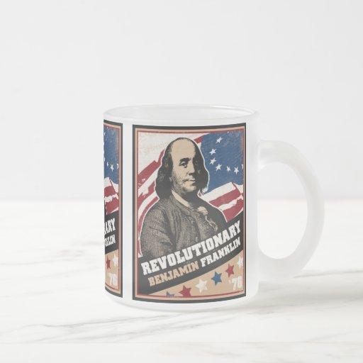 Benjamin Franklin Revolutionary Mug