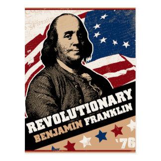 Benjamin Franklin Revolutionary Postcards