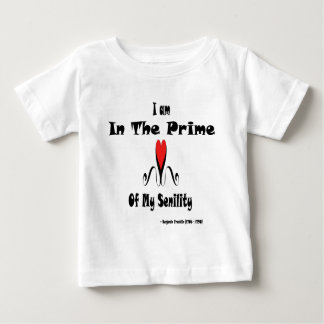Benjamin Franklin Senility Baby T-Shirt
