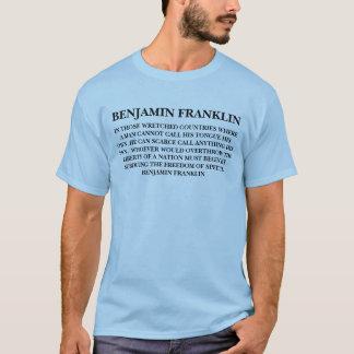 BENJAMIN FRANKLIN - SHIRT
