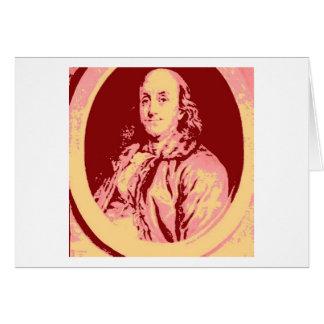 Benjamin Franklin Tarjeta De Felicitación