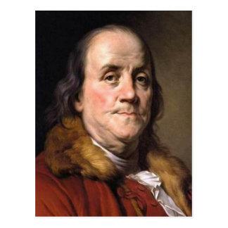 Benjamin Franklin Tarjetas Postales
