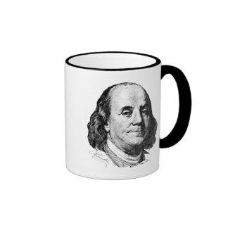 Benjamin Franklin Tazas