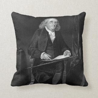 Benjamin Franklin Throw Pillows