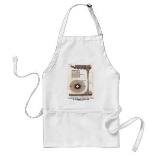 Benjamin Franklin Water-Spouts Whirlwinds Drawing Adult Apron