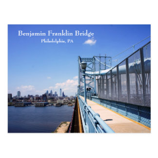 Benjamin Frankling Bridge Postcards