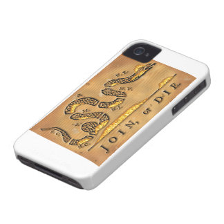 Benjamin Franklin's Join Or Die Political Cartoon Case-Mate iPhone 4 Cases