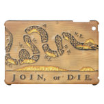 Benjamin Franklin's Join Or Die Political Cartoon Case For The iPad Mini