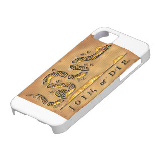 Benjamin Franklin's Join Or Die Political Cartoon iPhone SE/5/5s Case