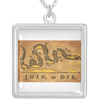 Benjamin Franklin's Join Or Die Political Cartoon Necklace