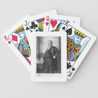 Benjamin Harrison (1833-1901), 23rd President of t Bicycle Playing Cards