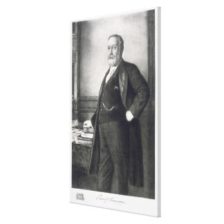 Benjamin Harrison (1833-1901), 23rd President of t Canvas Print