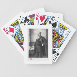 Benjamin Harrison (1833-1901), 23rd President of t Poker Cards