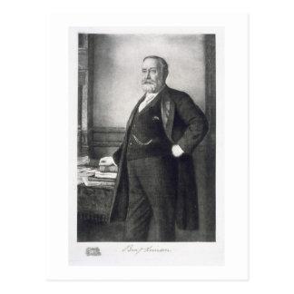 Benjamin Harrison (1833-1901), 23rd President of t Postcard