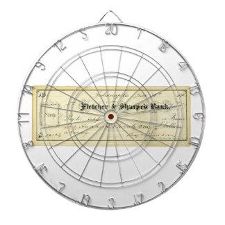 Benjamin Harrison firmó el control a partir del 30 Tabla Dardos