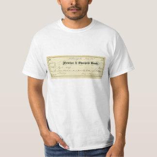 Benjamin Harrison firmó el control a partir del 30 Remeras