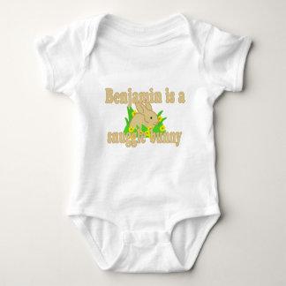 Benjamin is a Snuggle Bunny T Shirt