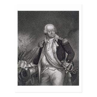 Benjamin Lincoln (1733-1810) (engraving) Postcard