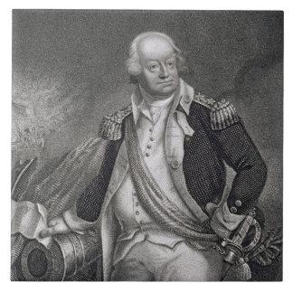 Benjamin Lincoln (1733-1810) (engraving) Ceramic Tile