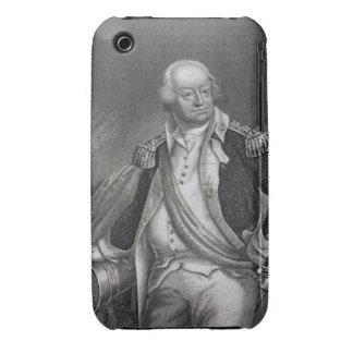 Benjamin Lincoln (1733-1810) (grabado) iPhone 3 Carcasas
