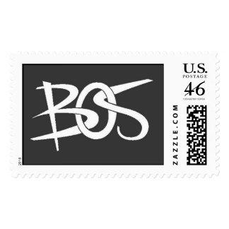 benjamin logo color grey postage stamps