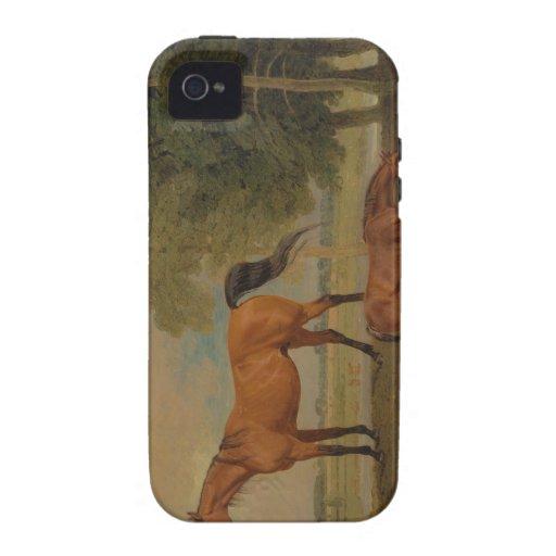 Benjamin Marshall - Broodmare con el potro iPhone 4/4S Carcasa