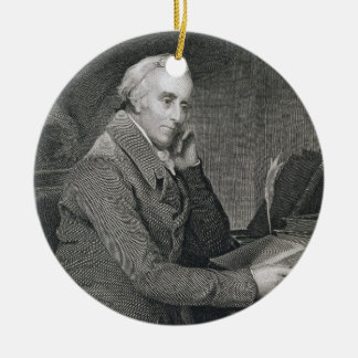 Benjamin Rush, engraved by Richard W. Dodson (1812 Ceramic Ornament
