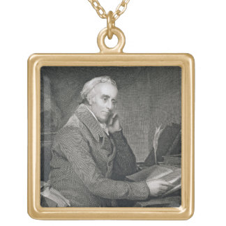 Benjamin Rush, engraved by Richard W. Dodson (1812 Gold Plated Necklace