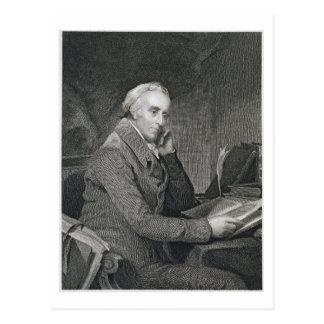 Benjamin Rush, engraved by Richard W. Dodson (1812 Postcard